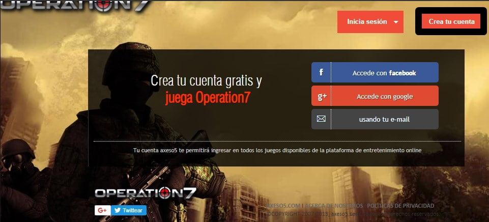 Cómo crear una cuenta de Operation 7   Tutoriales y guías